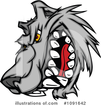 Wolf Clipart #1091642 by Chromaco