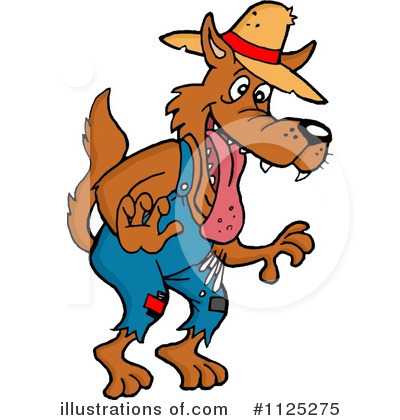 Hillbilly Clipart #1125275 by LaffToon