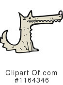 Royalty-Free (RF) Wolf Clipart Illustration #1164346