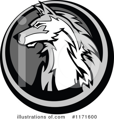 Wolf Clipart #1171600 by Chromaco