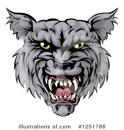 Werewolf Clipart #1251788 by AtStockIllustration