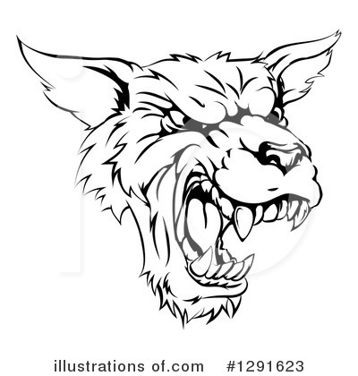 Coyote Clipart #1291623 by AtStockIllustration