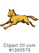 Royalty-Free (RF) Wolf Clipart Illustration #1300573