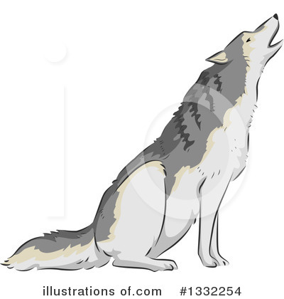 Wolf Clipart #1332254 by BNP Design Studio