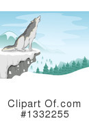Wolf Clipart #1332255 by BNP Design Studio