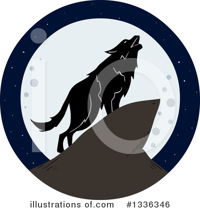 Wolf Clipart #1336346 by Liron Peer