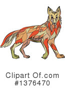 Royalty-Free (RF) Wolf Clipart Illustration #1376470