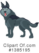 Royalty-Free (RF) Wolf Clipart Illustration #1385195
