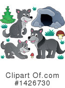 Wolf Clipart #1426730 by visekart