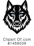 Wolf Clipart #1458036 by Vector Tradition SM