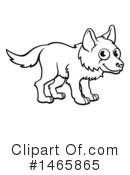 Wolf Clipart #1465865 by AtStockIllustration
