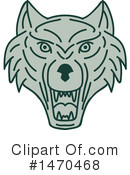 Wolf Clipart #1470468 by patrimonio