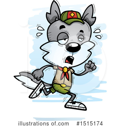 Wolf Clipart #1515174 by Cory Thoman