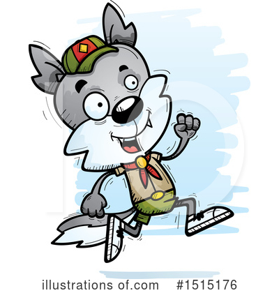 Wolf Clipart #1515176 by Cory Thoman