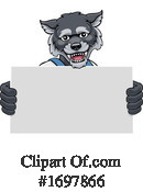 Wolf Clipart #1697866 by AtStockIllustration