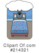 Royalty-Free (RF) Wolf Clipart Illustration #214321