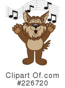 Wolf Mascot Clipart #226720 by Toons4Biz