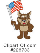 Wolf Mascot Clipart #226733 by Toons4Biz