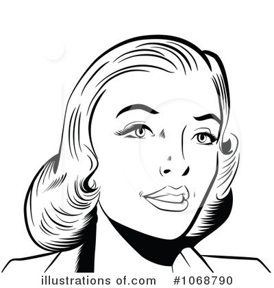 Woman Clipart #1068790 by brushingup