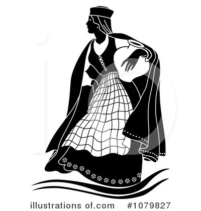 Royalty-Free (RF) Woman Clipart Illustration by pauloribau - Stock Sample #1079827