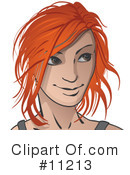 Royalty-Free (RF) Woman Clipart Illustration #11213