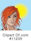 Royalty-Free (RF) Woman Clipart Illustration #11239