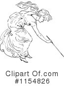 Royalty-Free (RF) Woman Clipart Illustration #1154826