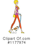 Woman Clipart #1177974 by Maria Bell
