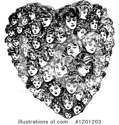 Heart Clipart #1201203 by Prawny Vintage