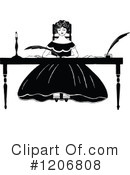 Royalty-Free (RF) Woman Clipart Illustration #1206808