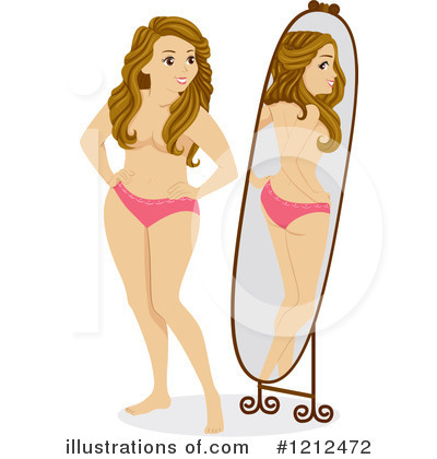 Royalty-Free (RF) Woman Clipart Illustration by BNP Design Studio - Stock Sample #1212472