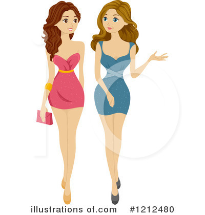 Dress Clipart #1212480 by BNP Design Studio