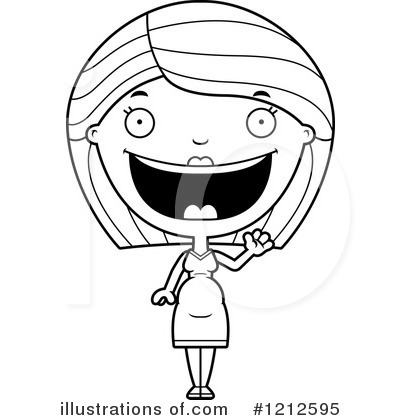Pregnant Woman Clipart #1212595 by Cory Thoman