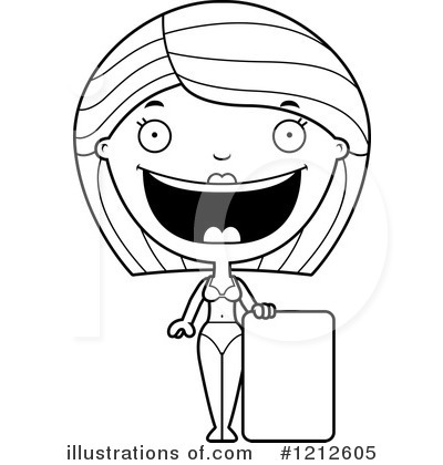 Royalty-Free (RF) Woman Clipart Illustration by Cory Thoman - Stock Sample #1212605
