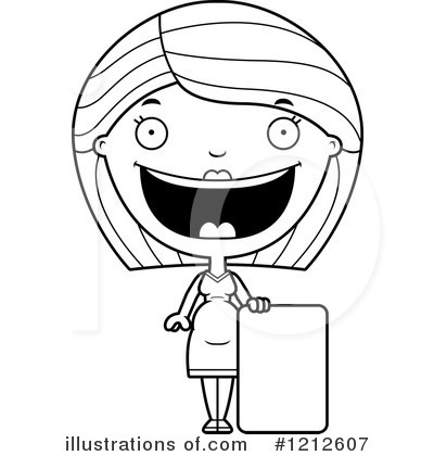 Pregnant Woman Clipart #1212607 by Cory Thoman