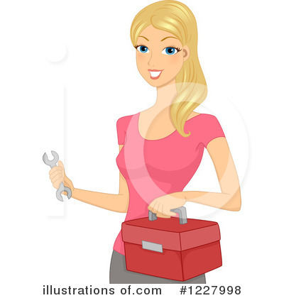 Royalty-Free (RF) Woman Clipart Illustration by BNP Design Studio - Stock Sample #1227998