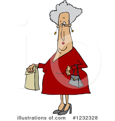 Old Woman Clipart #1232328 by djart