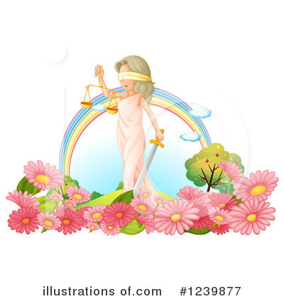 Lady Justice Clipart #1239877 by Graphics RF