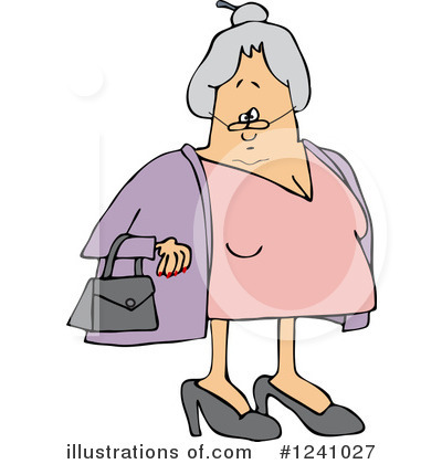 Old Woman Clipart #1241027 by djart