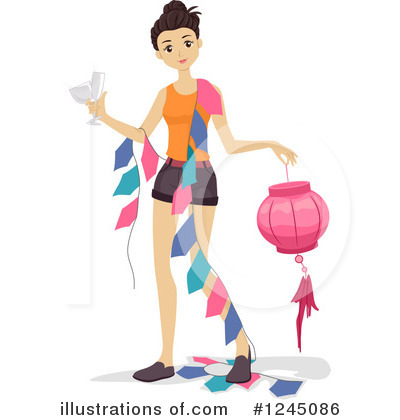Royalty-Free (RF) Woman Clipart Illustration by BNP Design Studio - Stock Sample #1245086