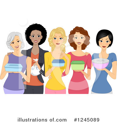 Royalty-Free (RF) Woman Clipart Illustration by BNP Design Studio - Stock Sample #1245089