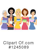 Woman Clipart #1245089 by BNP Design Studio