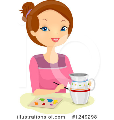 Pottery Clipart #1249298 by BNP Design Studio