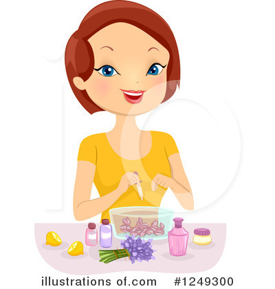 Woman Clipart #1249300 by BNP Design Studio