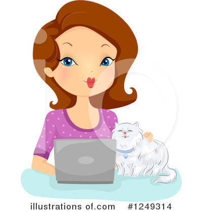 Cat Clipart #1249314 by BNP Design Studio