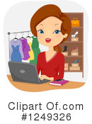 Woman Clipart #1249326 by BNP Design Studio