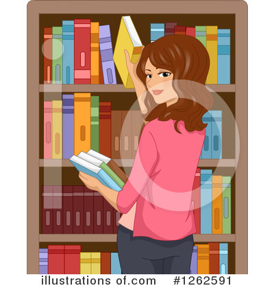 Librarian Clipart #1262591 by BNP Design Studio