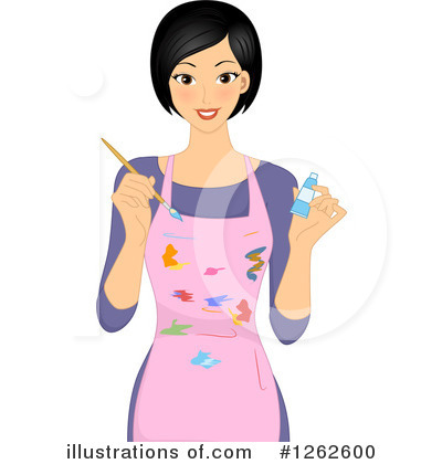 Paintbrush Clipart #1262600 by BNP Design Studio