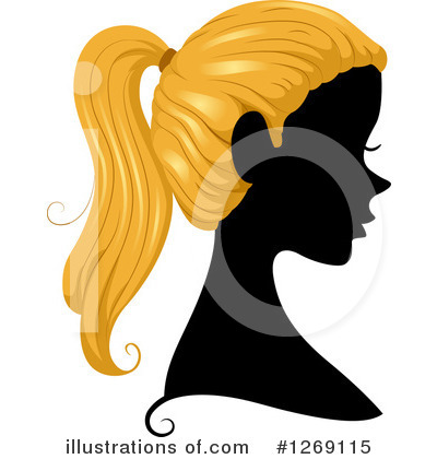 Hairstyle Clipart #1269115 by BNP Design Studio