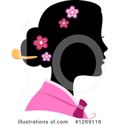 Geisha Clipart #1269116 by BNP Design Studio